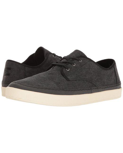 TOMS - Black Paseo Sneaker for Men - Lyst