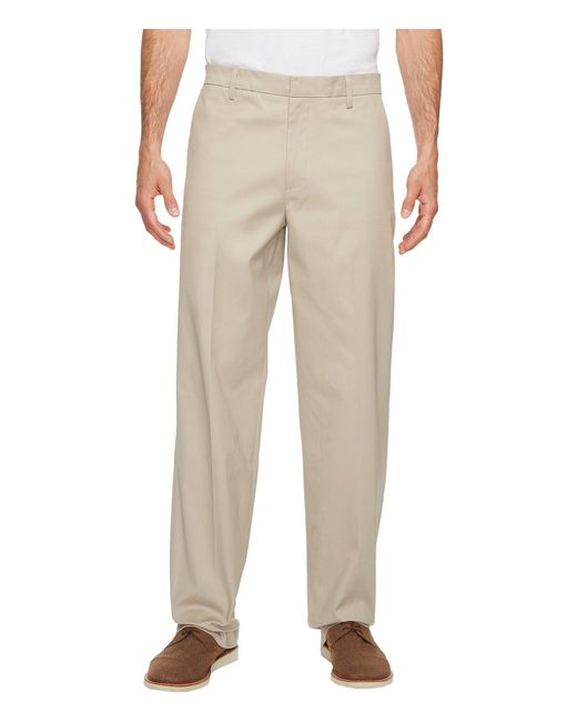 Dockers - Natural Iron Free Khaki D3 Classic Fit Flat Front for Men - Lyst