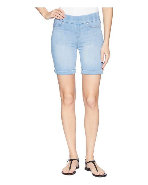 Liverpool Jeans Company - Blue Roxie Pull-on Walking Shorts In Silky Soft Denim In Delton Light - Lyst