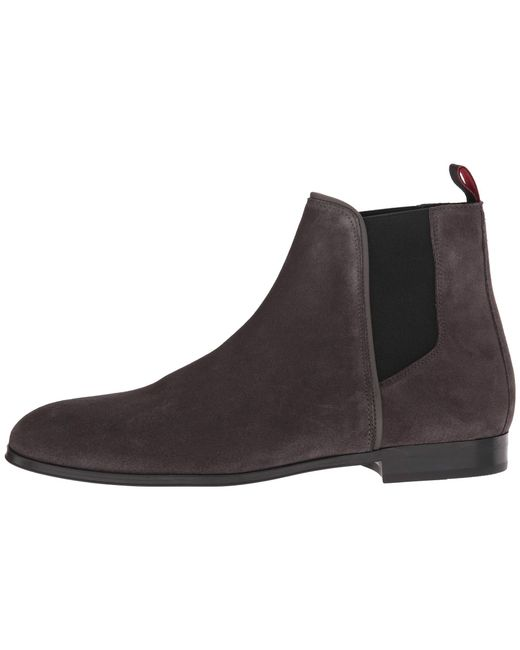 47221f04fab ... BOSS - Gray Boheme Chelsea Boot Casual By Hugo for Men - Lyst ...