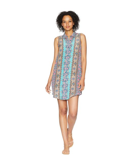 Tolani - Blue Holly Sleeveless Dress - Lyst