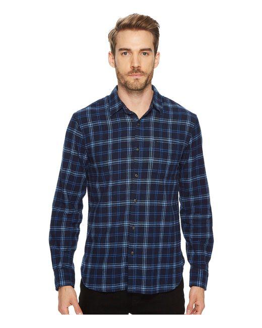 Lucky Brand - Blue Ballona Shirt for Men - Lyst