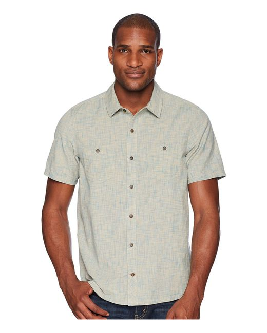 Toad&Co - Gray Smythy S/s Shirt for Men - Lyst