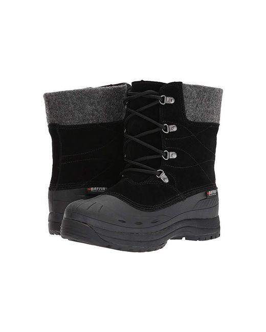 Baffin - Arnaq (black) Boots - Lyst