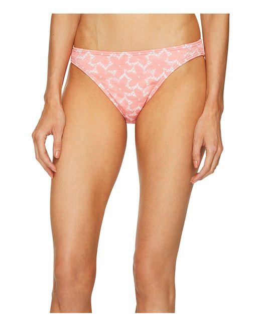 Letarte - Pink Daisy Lace Bottoms - Lyst