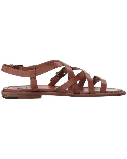 3c2ea91303c9 Lyst - Frye Blair Western Sandal in Brown - Save 50%