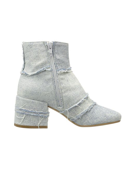 MM6 Maison Margiela Vintage Denim Ankle Boot KN7NefJ