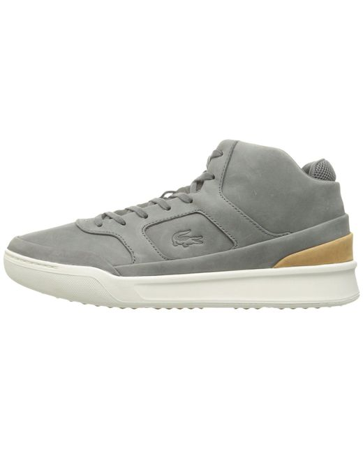 2c8e9ca27210bb Lyst - Lacoste Explorateur Mid 316 2 in Gray for Men - Save 40%