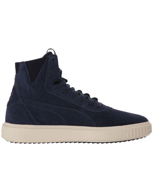 756300e2dc08 Lyst - PUMA Breaker Hi Evolution Sneakers in Blue for Men - Save 27%