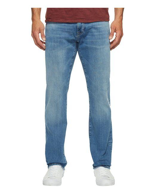 Mavi Jeans | Blue Zach Regular Rise Straight Leg In Light Williamsburg for Men | Lyst