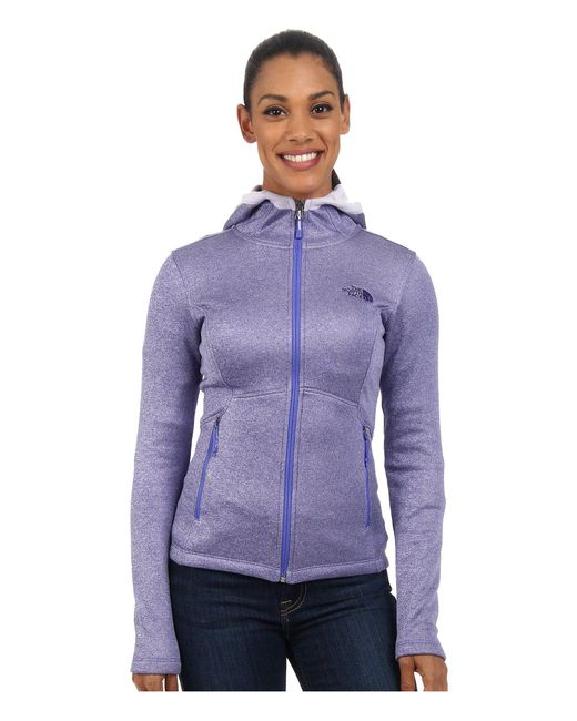 The North Face - Purple Agave Hoodie - Lyst