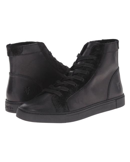 Frye - Black Gemma High-top Fashion Sneaker - Lyst