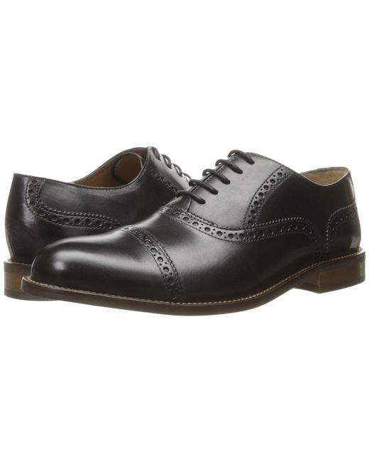 Florsheim - Black Pascal Cap Toe Oxford for Men - Lyst