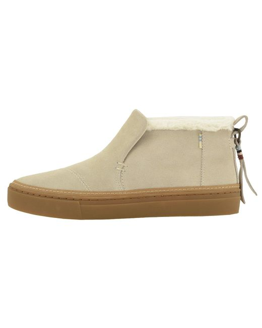 e2fceb908fe ... TOMS - Natural Paxton Water-resistant Slip-ons - Lyst ...