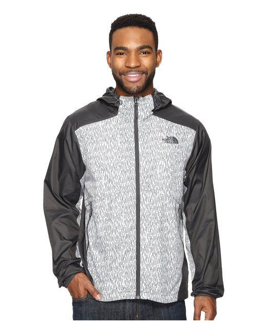 The North Face - Gray Flyweight Hoodie for Men - Lyst
