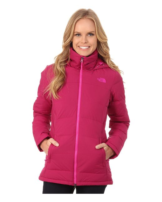 The North Face - Pink Fossil Ridge Parka - Lyst