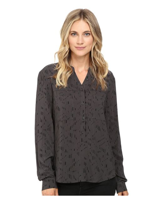 Alternative Apparel - Gray Rayon Challis Femme Popover - Lyst