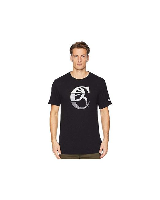 Todd Snyder - + Champion(r) Champion C Tee (black) T Shirt for Men - Lyst