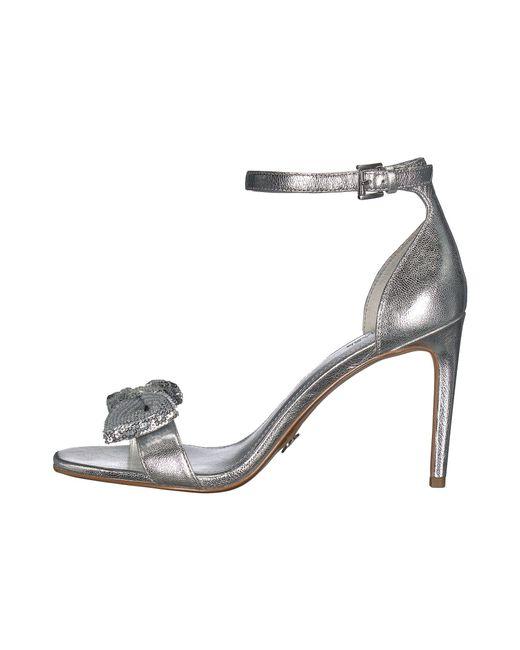 f85699c3e22 Lyst - MICHAEL Michael Kors Paris Sandal in Metallic - Save 9%