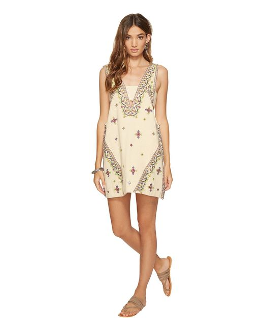 Free People - White Never Been Mini Dress - Lyst