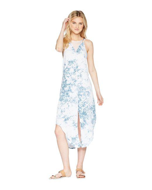 Hurley - White Reversible Wash Dress - Lyst