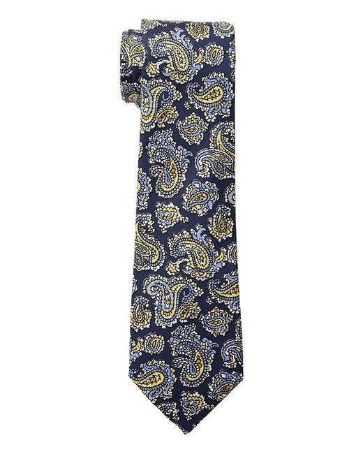 Lauren by Ralph Lauren - Blue Small Paisley Tie for Men - Lyst