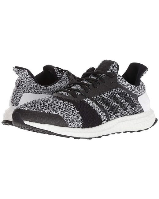 Men's Ultraboost St (whiteblackblack) Running Shoes