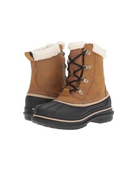 87cf265cf610 Crocs™ - Black Allcast Ii Boot for Men - Lyst ...