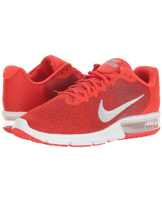 160dc1672b054 ... discount code for nike red air max sequent 2 for men lyst 1139e 6e990