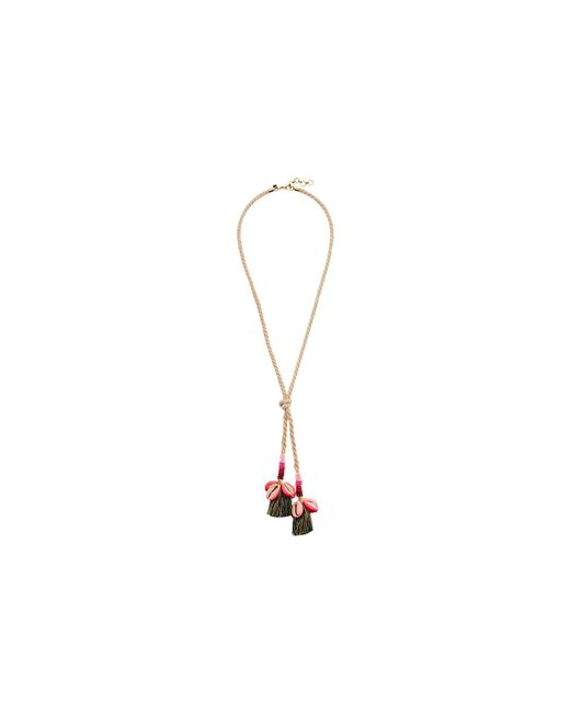 Rebecca Minkoff - Multicolor Lola Rope Lariat Necklace With Tassels - Lyst