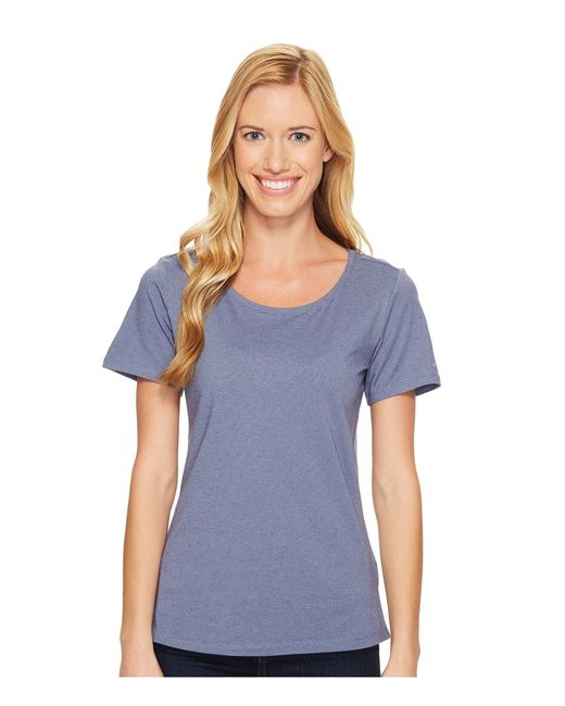 Columbia - Blue Shadow Time Iii Tee - Lyst