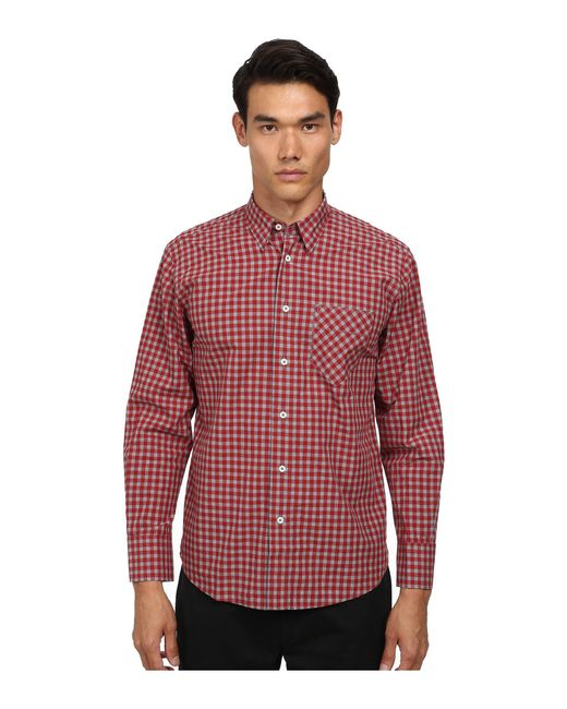 Billy Reid - Red Walland Top for Men - Lyst