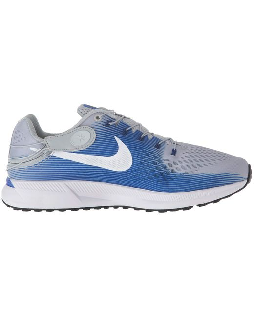 14bbfe1f66ff Lyst - Nike Air Zoom Pegasus 34 Flyease in Blue for Men - Save 36%