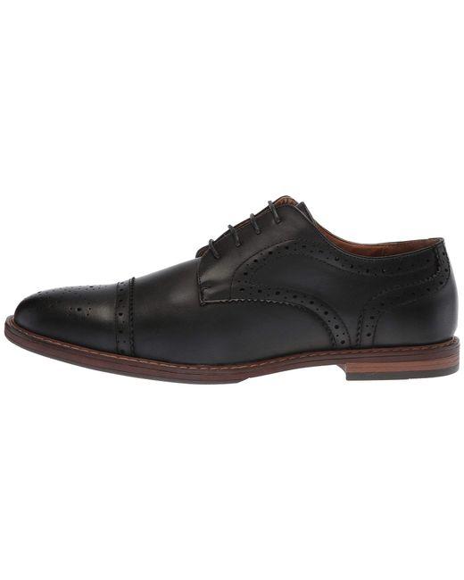 f99a0c5fe6 ... Nunn Bush - Black Palmer Cap Toe Oxford for Men - Lyst ...