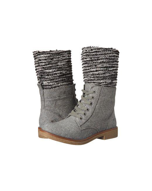 Rocket Dog - Gray Temecula Heather Blankie Fabric Boot - Lyst