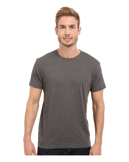 Prana - Gray ® Crew Tee for Men - Lyst