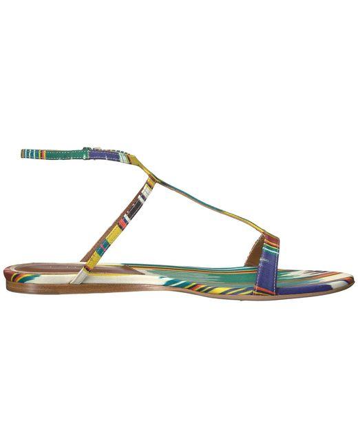 Etro Ikat Flat Sandal oojXw781
