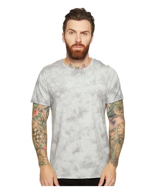 Threads For Thought - Gray Fabian Tie-dye Tee for Men - Lyst