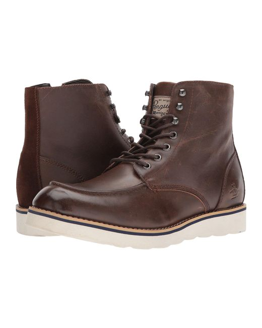 Original Penguin - Brown Nigel for Men - Lyst
