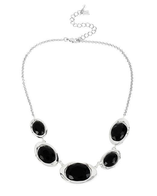Robert Lee Morris | Black Faceted Gem Collar Necklace | Lyst