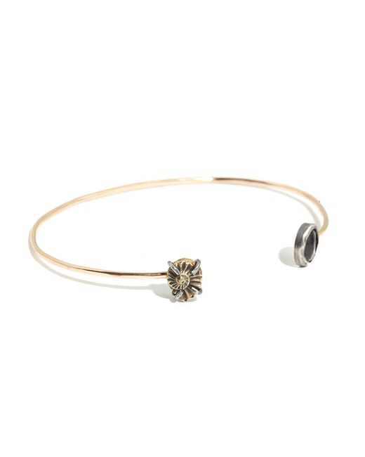 Melissa Joy Manning | Metallic Brown Sapphire And Brass Cast Ammonite Cuff | Lyst