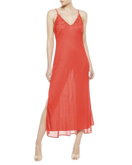 La Perla   Orange Night Dress   Lyst