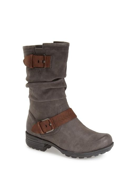 Cobb Hill | Gray Cobb Hill 'brooke' Boot | Lyst