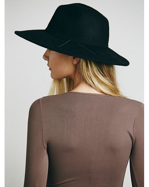 Free People | Brown Seamless Solid Deep V | Lyst