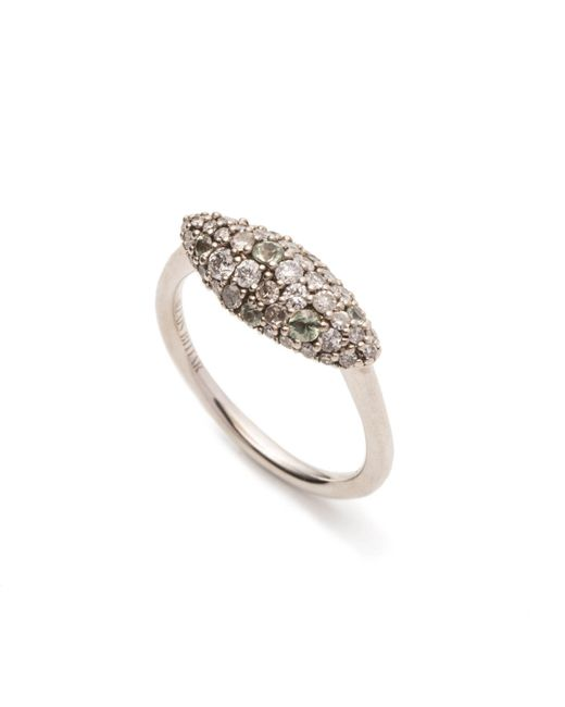 Alexis Bittar | Metallic Silver Gaze Marquis Pave Marquis Ring You Might Also Like | Lyst