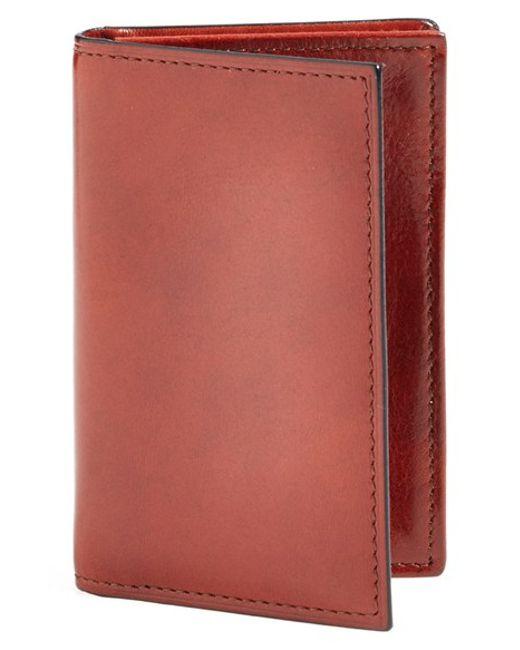Bosca   Brown 'old Leather' Gusset Wallet for Men   Lyst