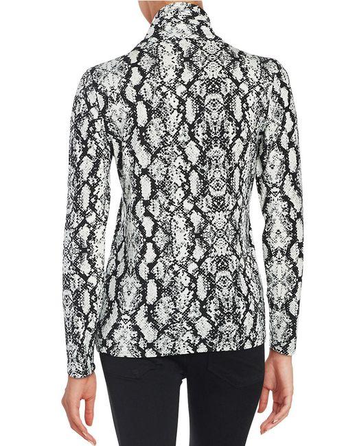 Calvin Klein | Black Knit Turtleneck | Lyst