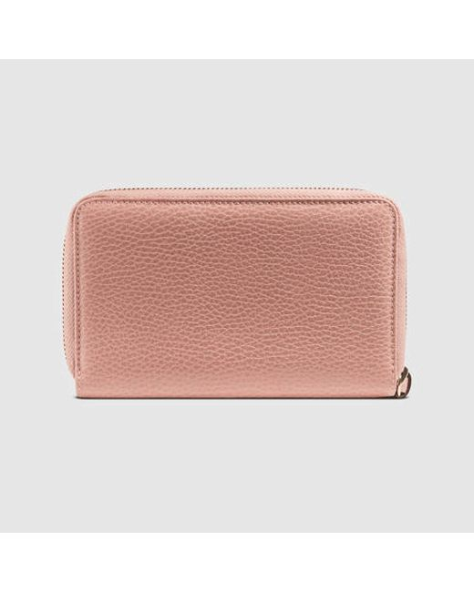 ec3791b245e2 Gucci Zip Around Wallet Pink   Stanford Center for Opportunity ...