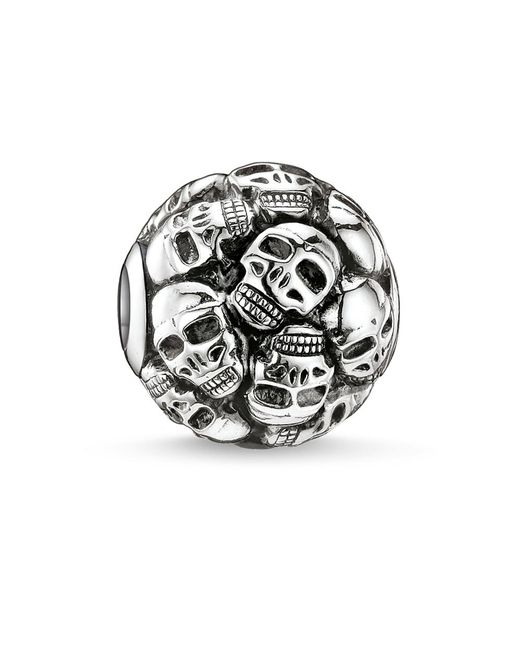 Thomas Sabo   Metallic Karma Bead Skulls   Lyst