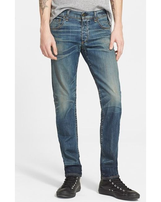 Rag Bone Standard Issue 39 Fit 2 39 Stretch Denim Jeans In